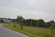 Въезд в п.Моршанское
