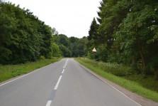 Старая дорога Калигнинград-Зелиноградск в направлении п. моршанское