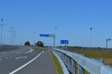 съезд с трассы калининград -зелиноградск в направлении матросово